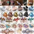 Fashion Women Girls Crystal Barrette Rhinestone Flower Hair