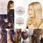 fashion women gold silver geometry triangle hairpin
