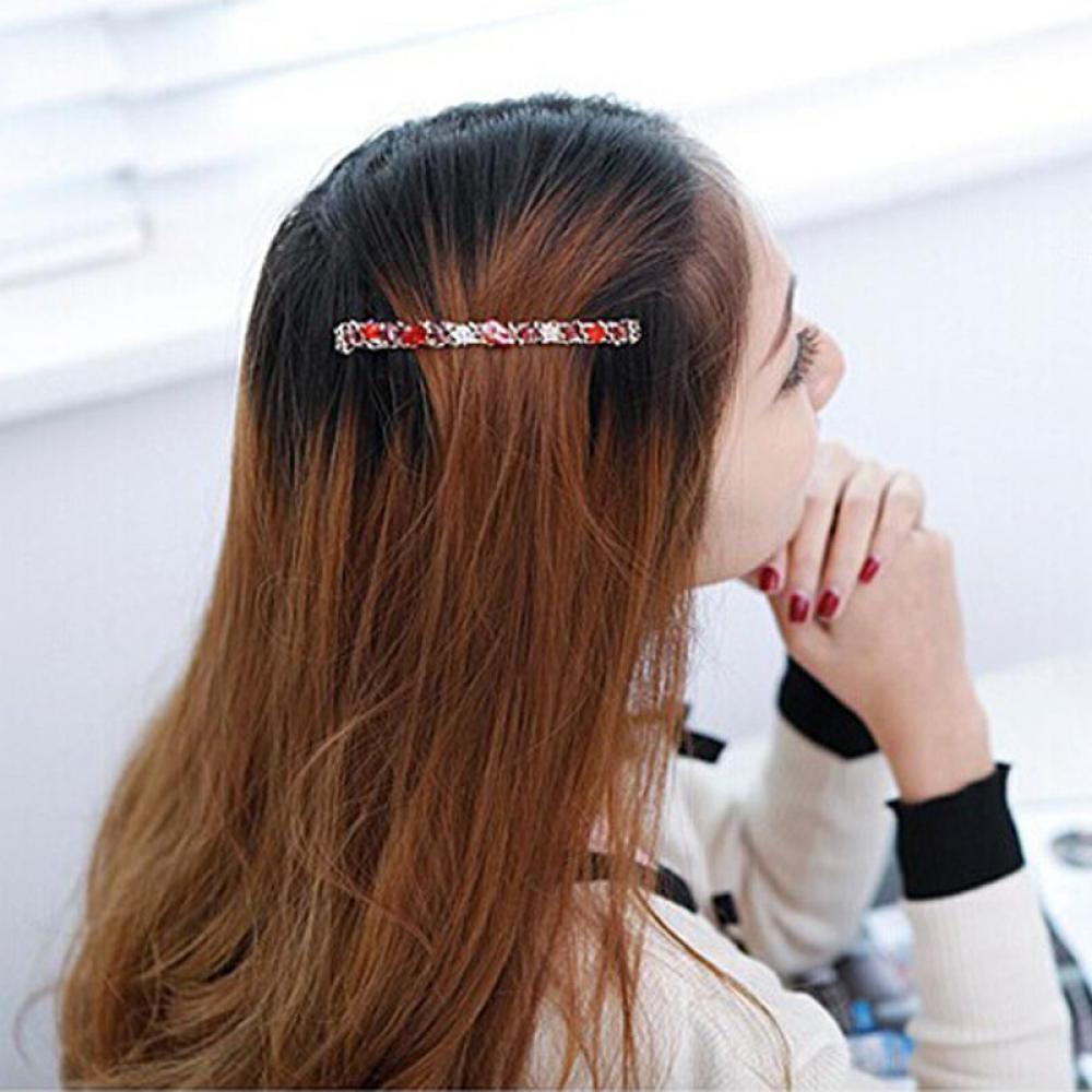 Women's Rhinestone Clip Hairpin Clips Accessories