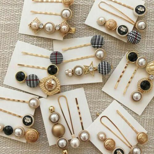 USA Pearl Clip Comb Pin Headdress