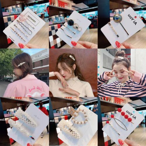 USA Pearl Hair Clip Hairband Pin