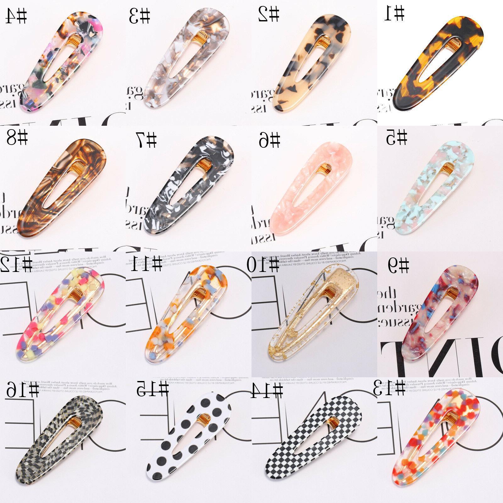 Fashion Women's Clips Barrette Pins Hair Accessories