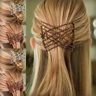 Flexible Butterfly Hair Clip Magic Elastic Hair Comb Women H