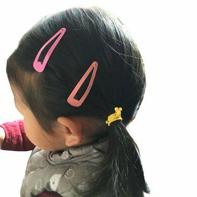 Free shipping 100 Solid for Girls Hair Clip