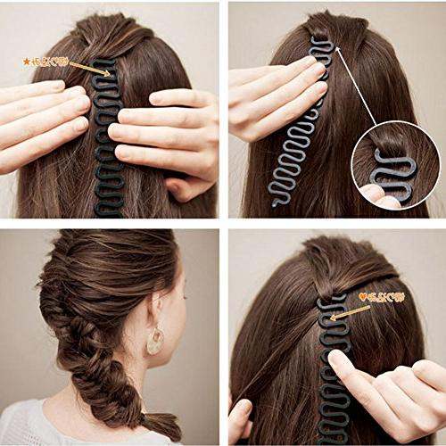 EYX Formula Fashion Hair With hair Styling Bun