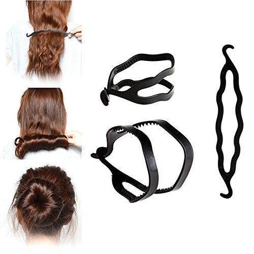 Hair Roller With hair Styling Bun