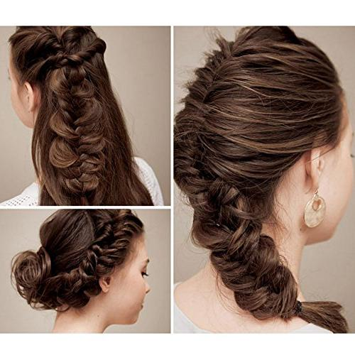 EYX French Hair Tool With Magic Styling Bun Maker