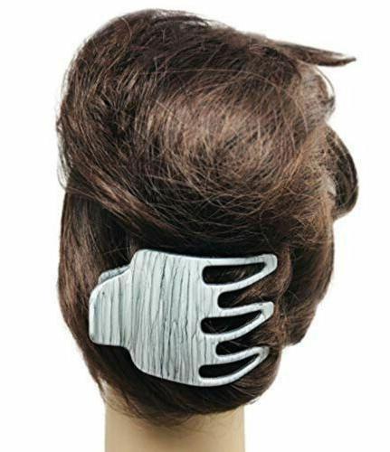 Parcelona Grey Wide Side Jaw Yoga Clip