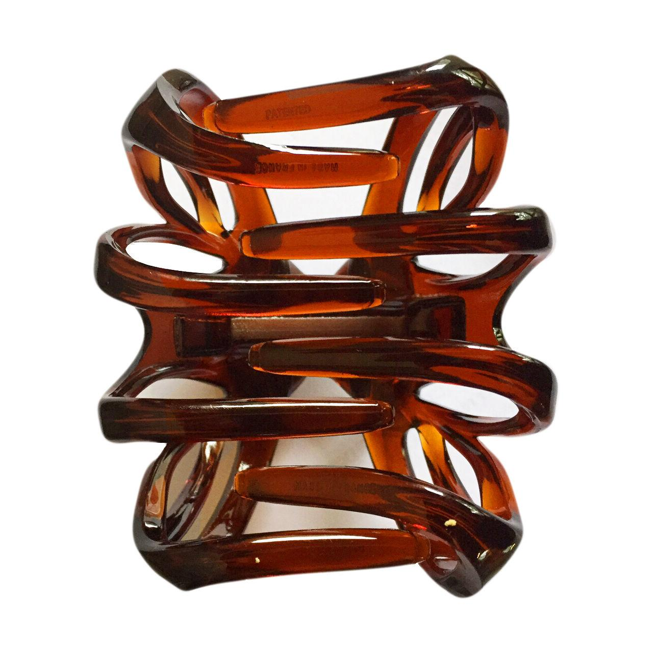 French Clip Celluloid Tortoise Shell Jaw Hair Clip 1/2 Inch -T03