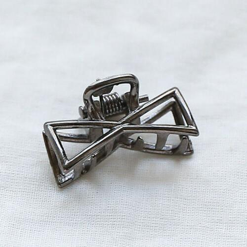 Geometric Women Hair Clip Hair Claw Vintage Hair
