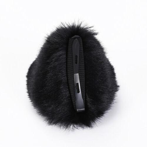 Girls Clip Hair Long Fur Catwoman