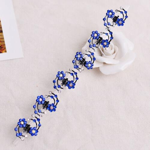 Girls 6Pcs Baby Hair Snowflake Accessories