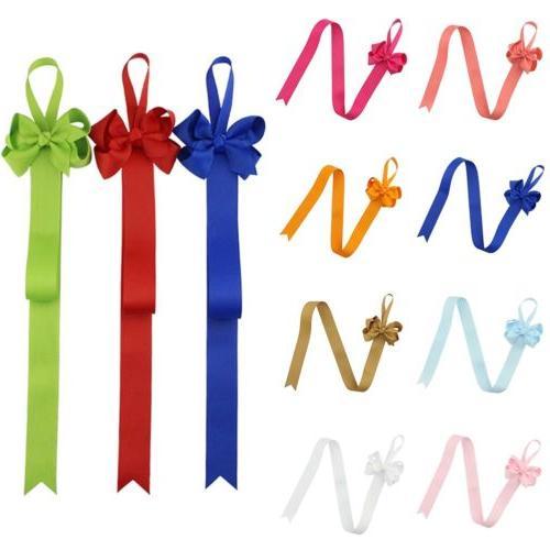 Girls Hair Ribbon Flower Baby Clip Organizer