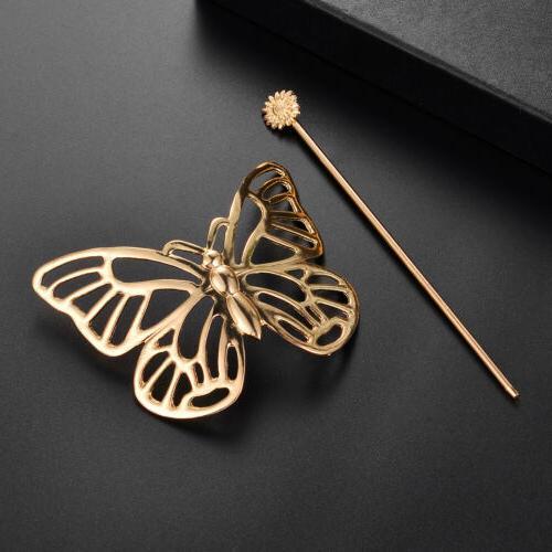 Butterfly Barrette Stick