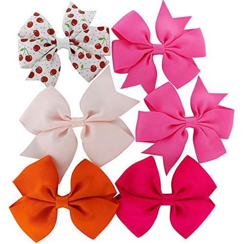 Grosgrain Ribbon Hair Boutique Clips For Girls Teens Kids Toddlers Set 40
