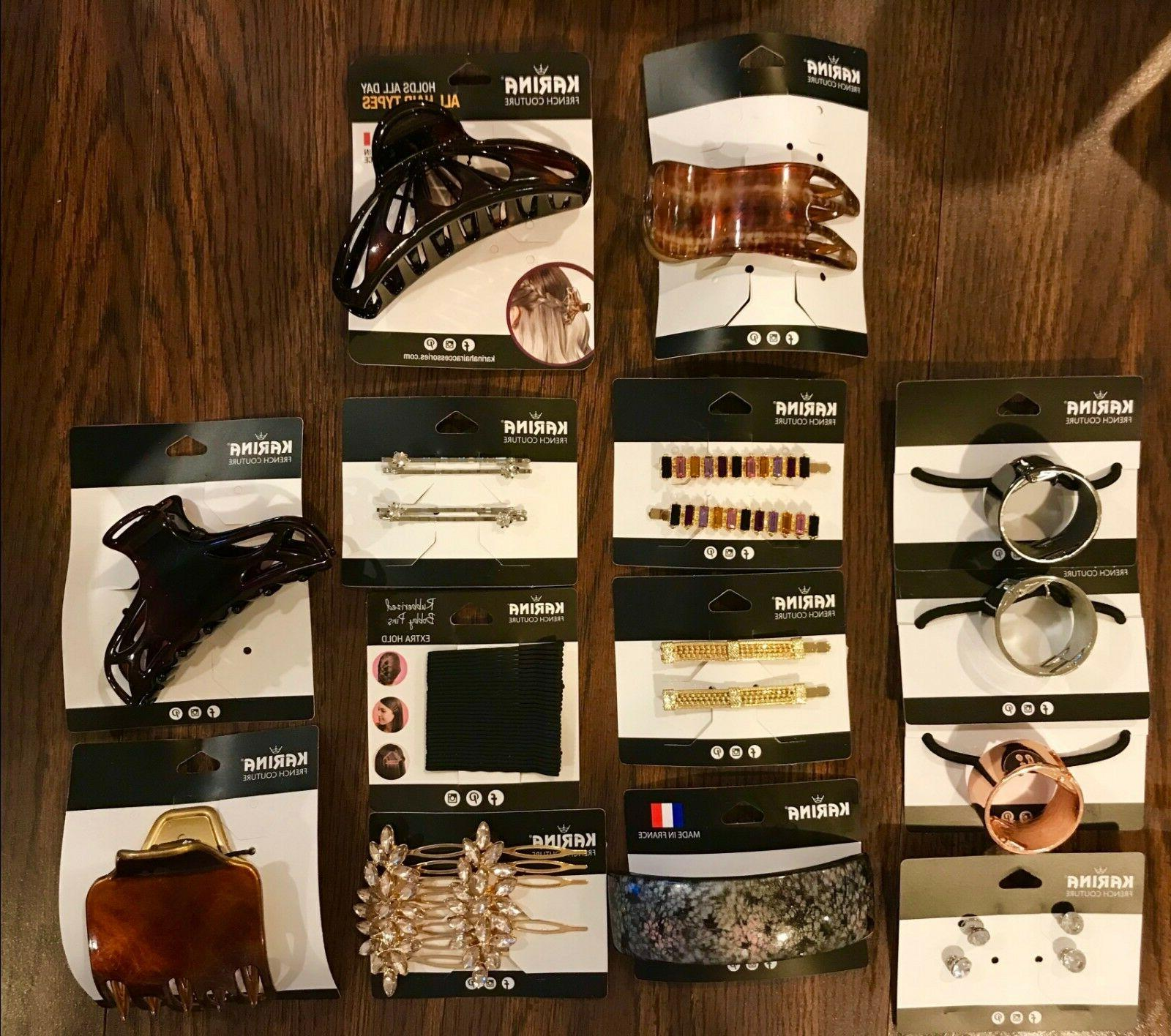 hair accessories ponytail pins combs clips claws