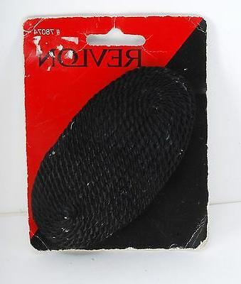 REVLON HAIR BARRETTE CLIP BLACK ROPE FABRIC CLIP HAIR ACCESS