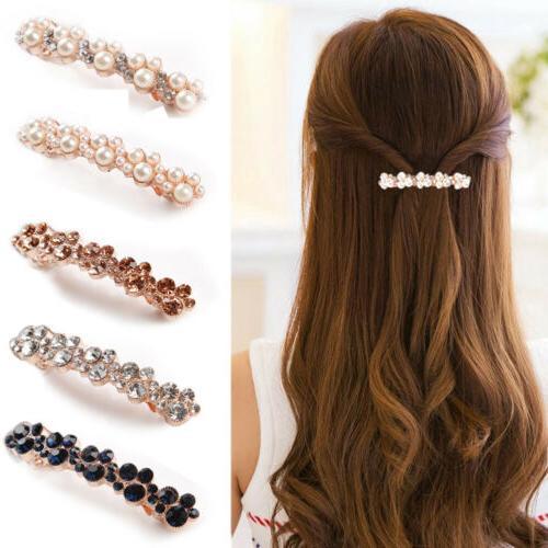 hair barrette clip french clips barrettes slide