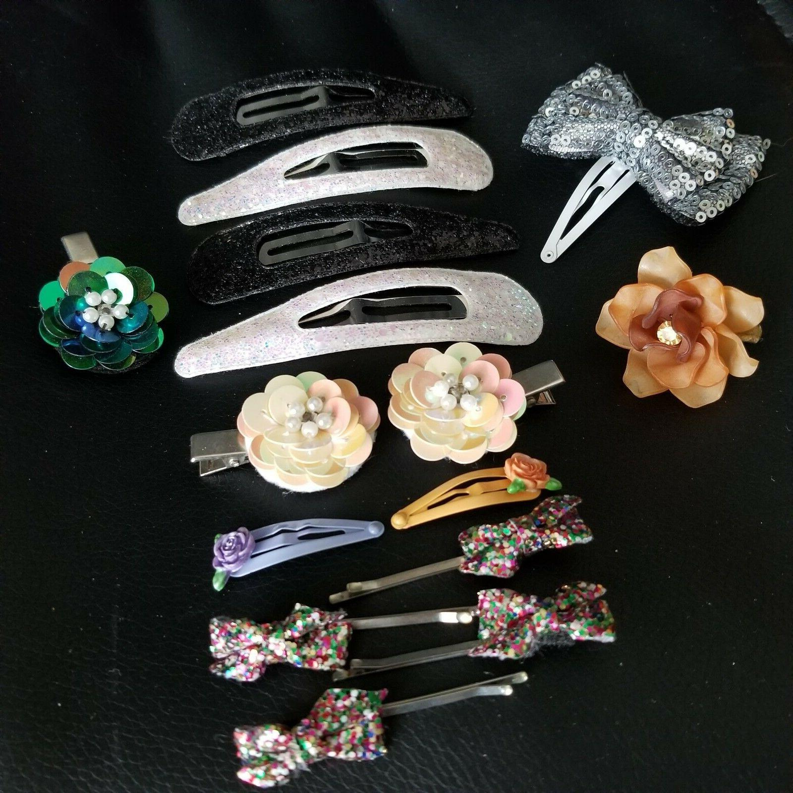 Hair Hair Clips Butterfly Flowers Spring