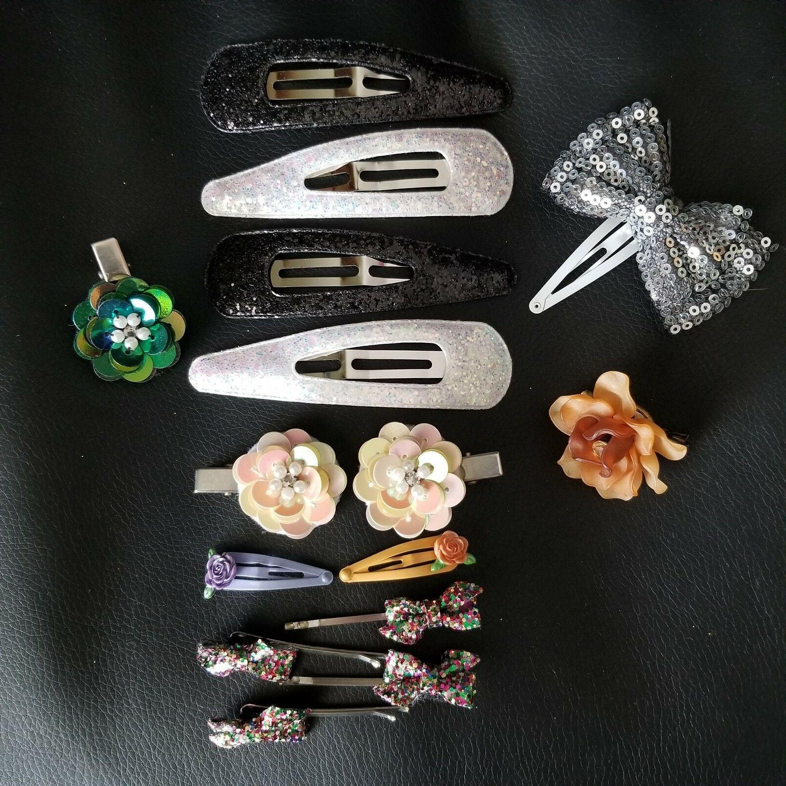 hair care accessories lot hair clips ties