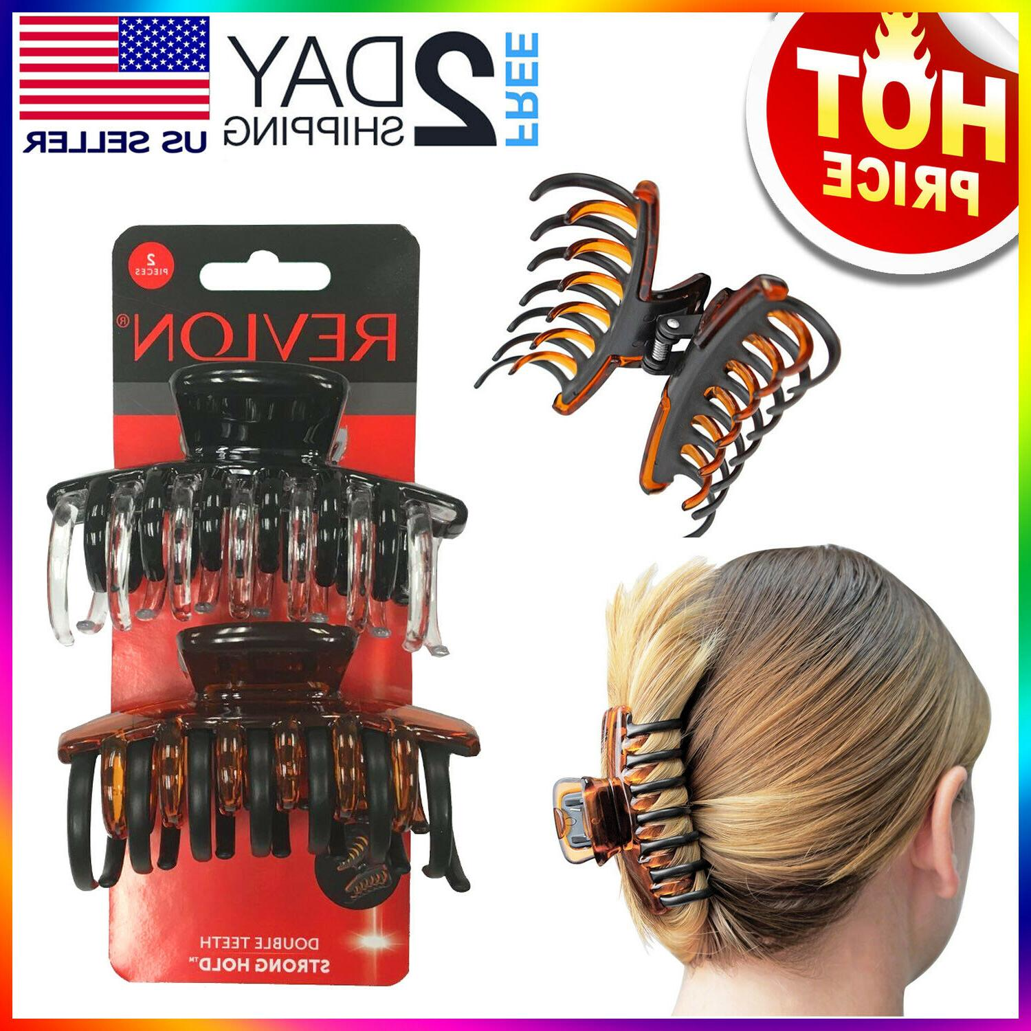 hair claw clips strong hold hair clamp