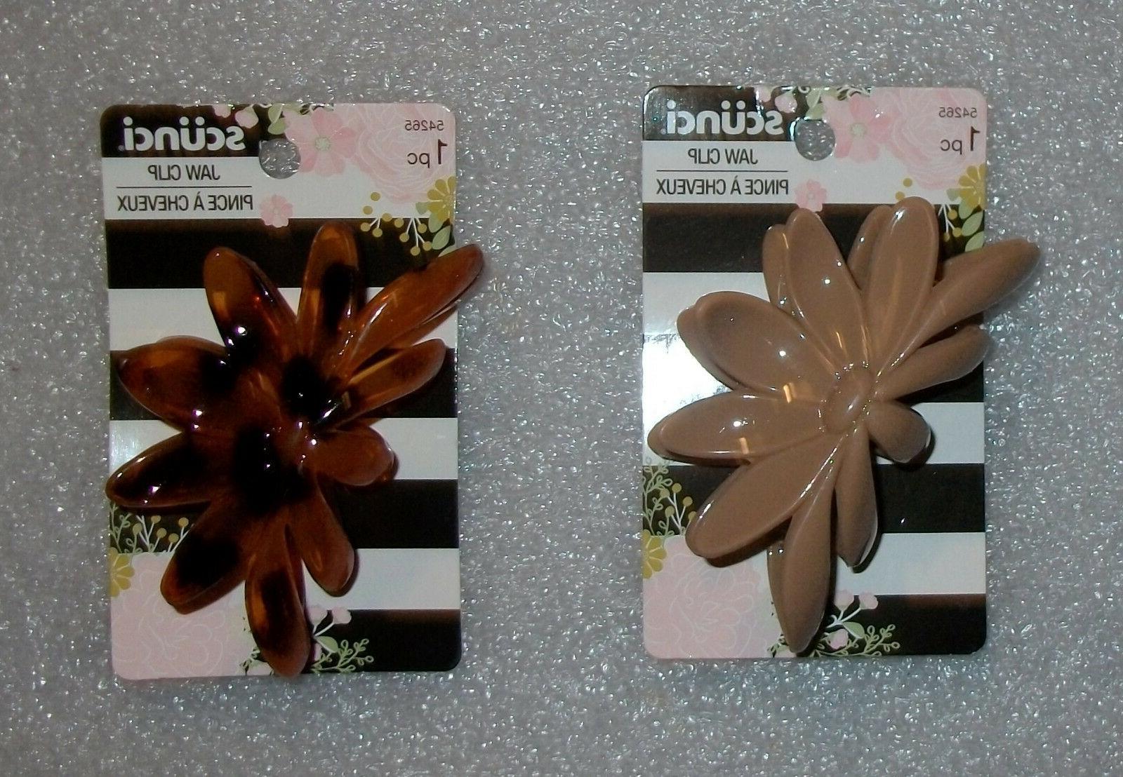 hair claw jaw clip frangipani flower choose