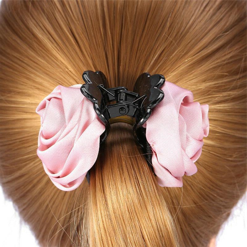Hair Rose Hair Claws Hair For Girls Crab Clamp