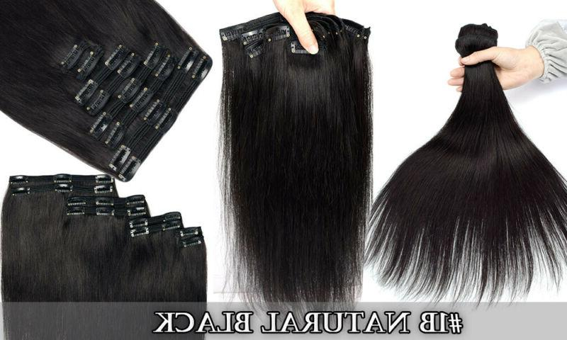 """Hair Clip Double Remy Human Clip Ins 20"""""""
