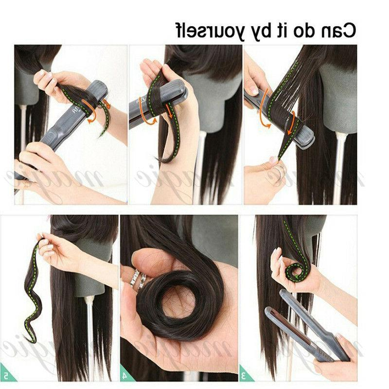 Hair 8PCS Clip Human Weft Brown