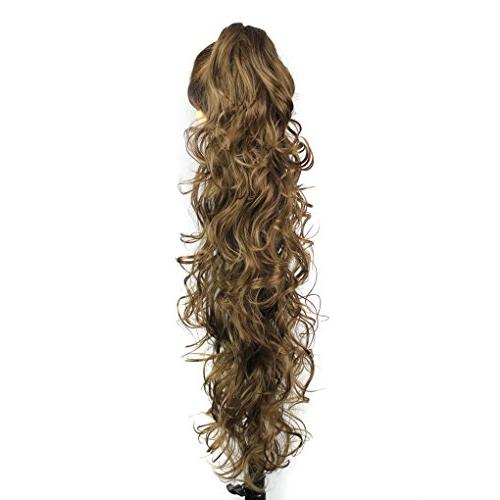 S-ssoy Hair In Hair Extension Long/Voluminous Curly Or for Women