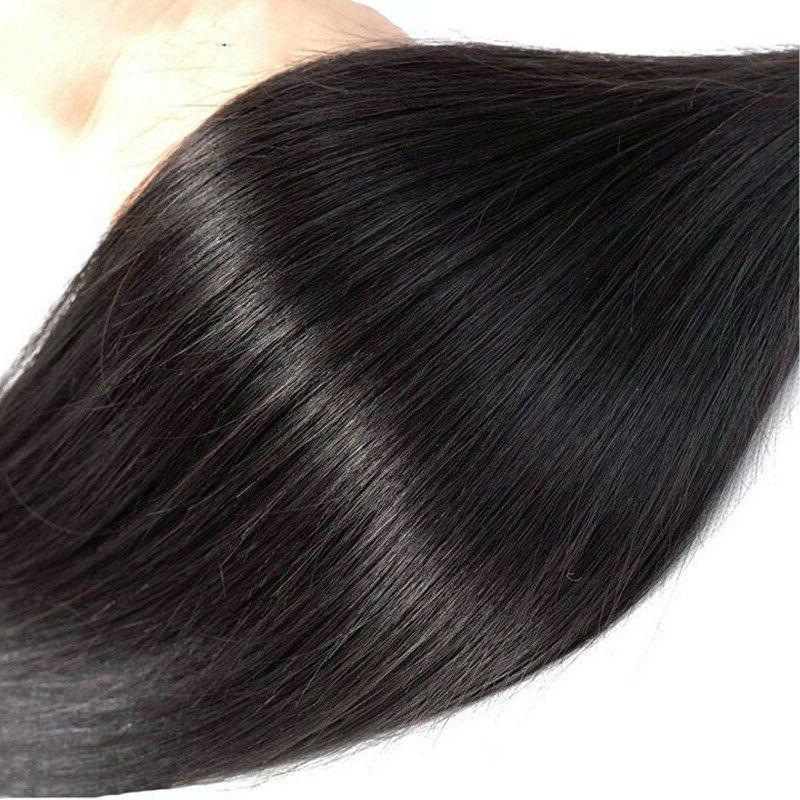 Human Remy Hair Ins 100% Real Extensions Ombre 8PCS