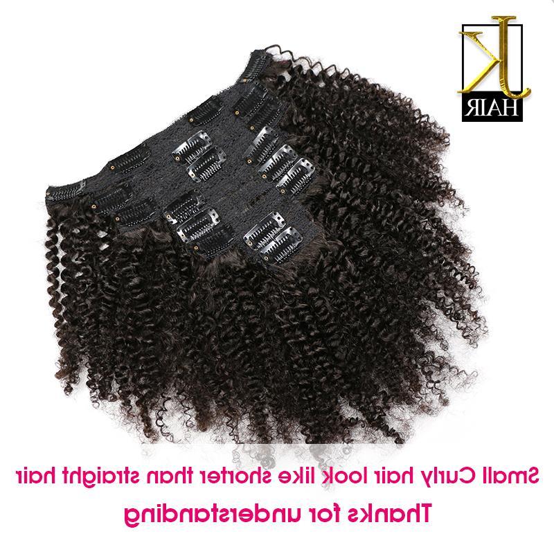JK <font><b>Hair</b></font> Afro Kinky <font><b>Curly</b></font> Weave <font><b>Hair</b></font> In Human <font><b>Hair</b></font> Extensions Natural Full Ship Free