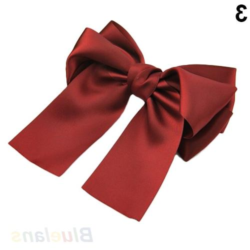 Korean Ribbon <font><b>Clips</b></font> Barrette Holder Hot Sale