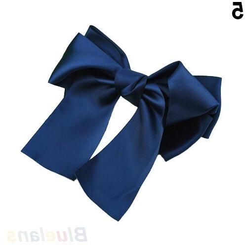Korean Ribbon Bow <font><b>Hair</b></font> <font><b>Clips</b></font> Barrette Sale
