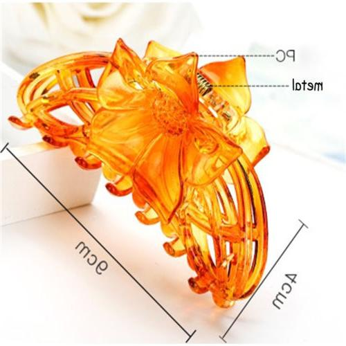 Large Hair Claw Girls Jaw Clamp
