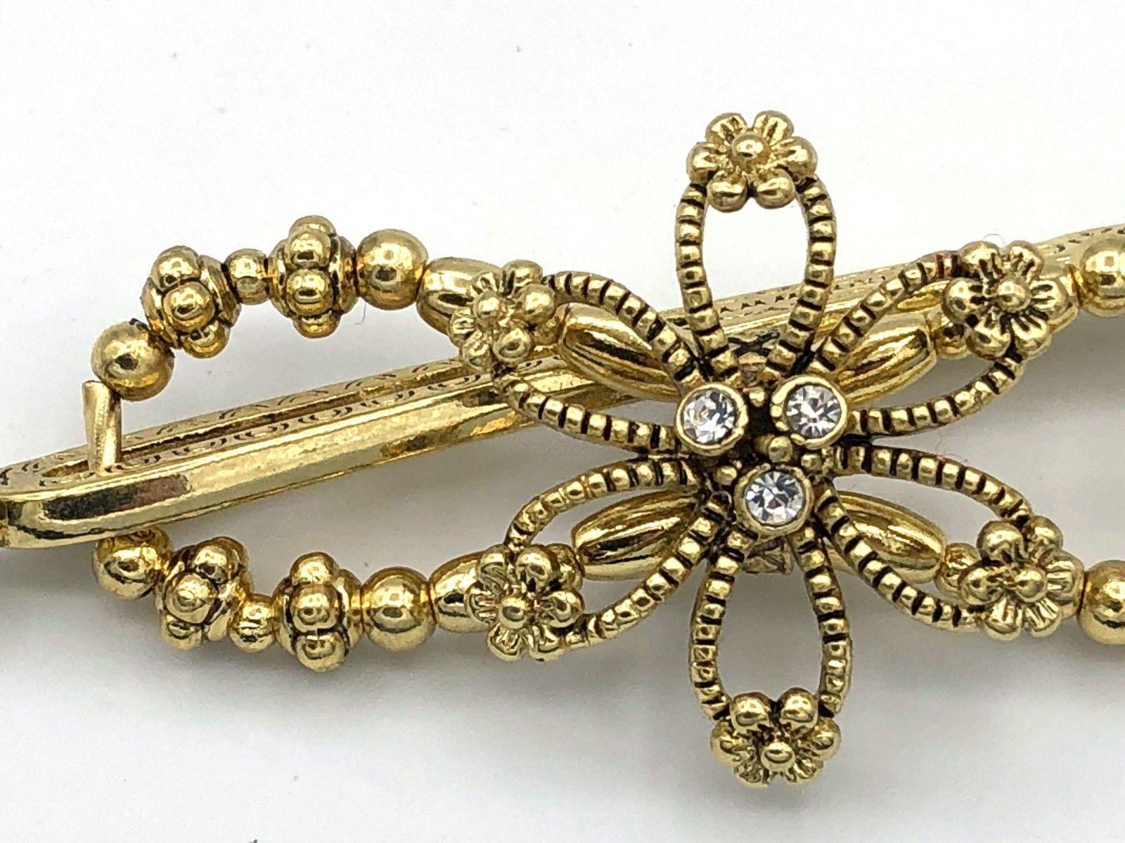 lilla rose flexi8 hair clip plain gold