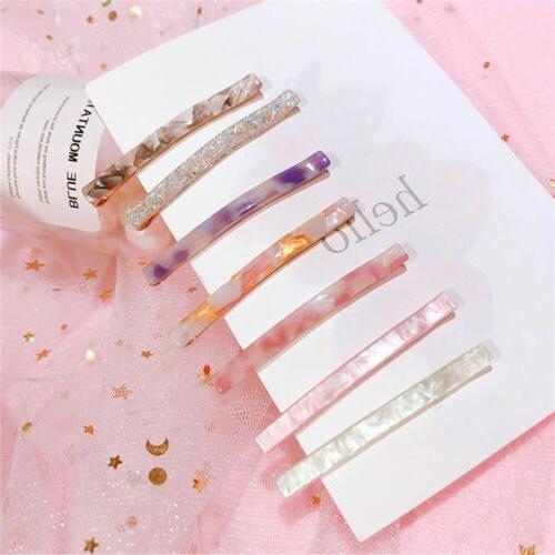 long colorful grain hairpin barrettes acetic acid