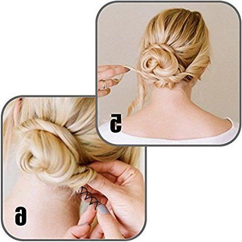 Lot Styling Tool Spiral Spin Screw Pin Hair Barrette