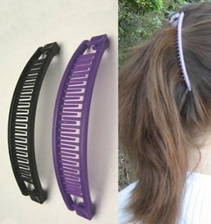 LOT OF BANANA HAIR CLIP CLAWS,HAIR