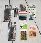 Scunci Lot of 7 packs Hair rubberbands,clips,ties, pins