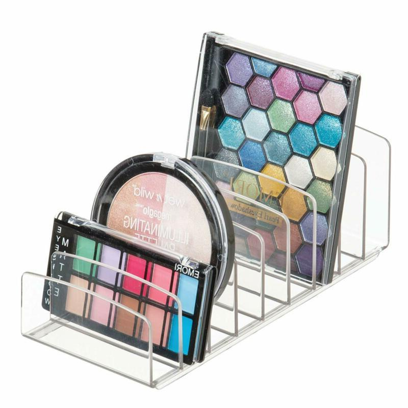 makeup holder organizer for vanity palettes organizer