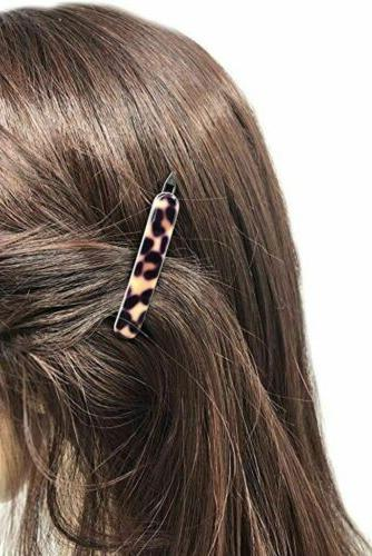 French Mini Shell Handmade Metal Hair Clip Barrette for Girls