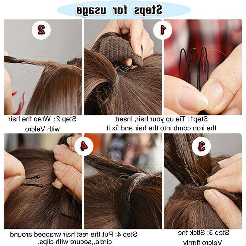Natural Wrap Around Hair Clip in tail Hair as Human