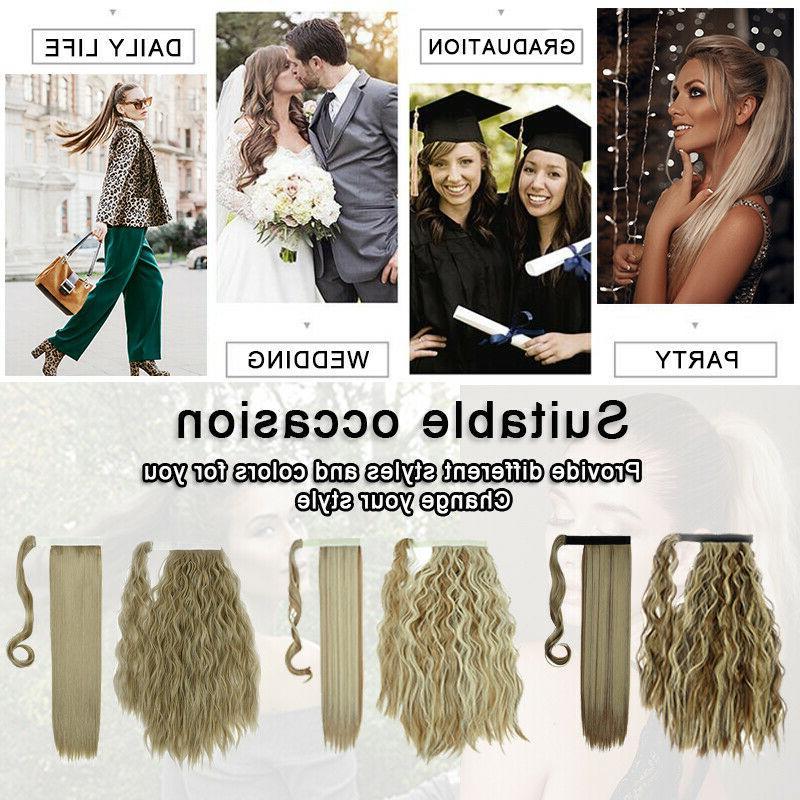 Natural Hair Clip tail Human US