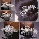 New Bridal Wedding Flower Crystal Rhinestones Diamante Pearl