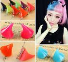 New Lady Girl Cosplay Costume Little Devil Horns Candy Color