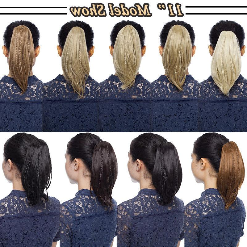 NEW Ponytail Natural On Pony tail For