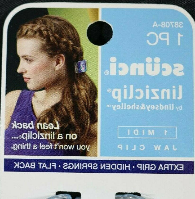 NEW Linziclip Grip Flat Back Hair Clip