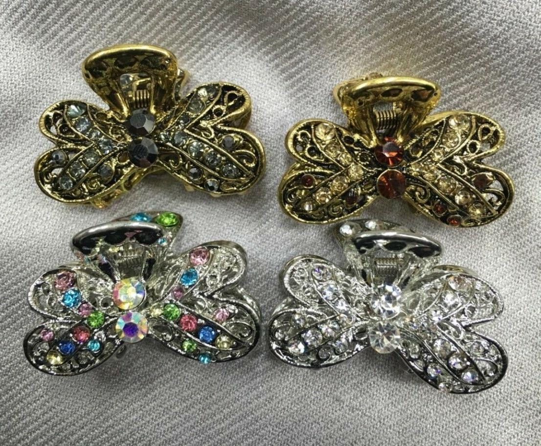 New Sparkling choice of your color hair jaw clip jan17