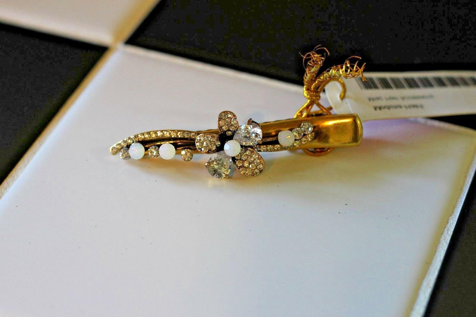 NWT Hair Gold. Jewels. Rhinestone.